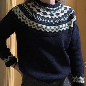 L.L. Bean wool sweater